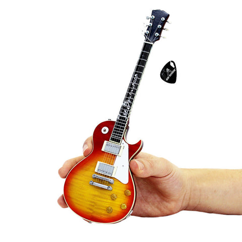 "Joe Bonamassa Signature ""1959 Les Paul STD Sunburst - Carmelita"" Mini Guitar Replica Collectible"