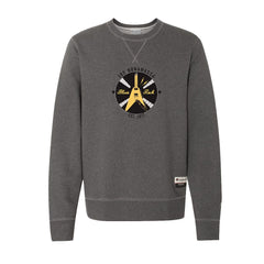 Electric Flying V - Champion Sueded Fleece Crew (Charcoal)