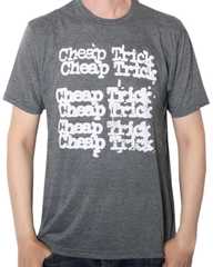 Cheap Trick - Stacked T-Shirt (Men)