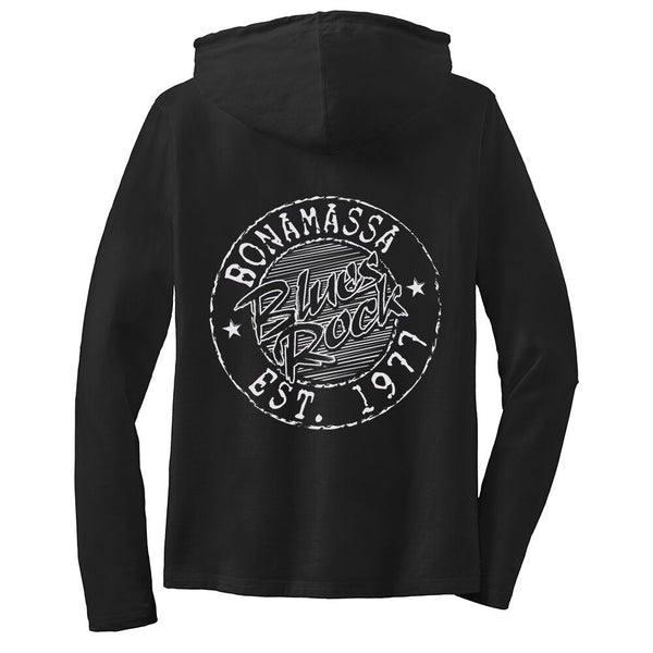 Classic Blues Rock Hooded Long Sleeve (Women)