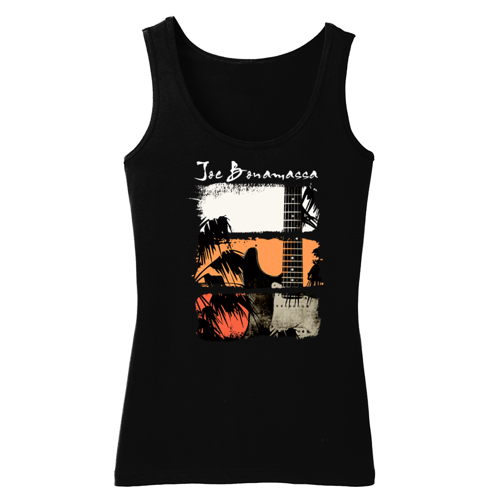 Shades of Summer Blues Tank (Women) - Black