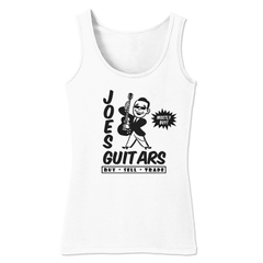 Joe's Guitars Tank (Women) - White