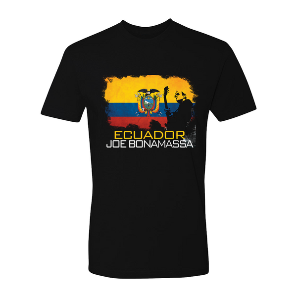 Joe Bonamassa World Shirt: Ecuador