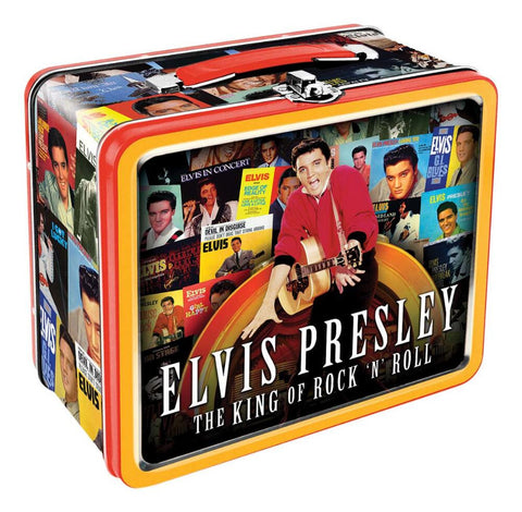 Elvis Presley - The King of Rock n Roll Lunch Box