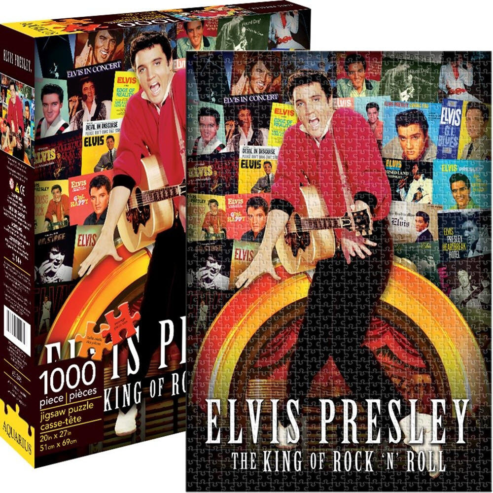 Elvis Presley - The King of Rock n Roll Puzzle