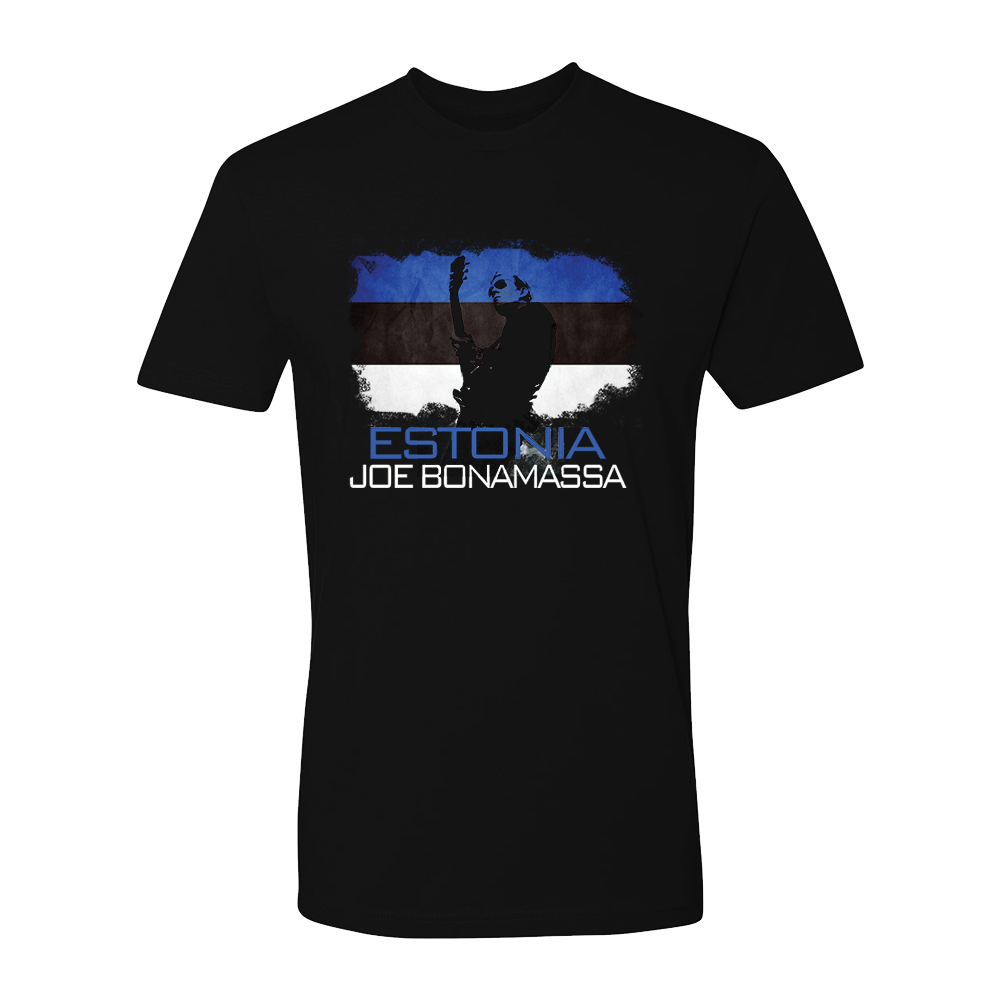 Joe Bonamassa World Shirt: Estonia