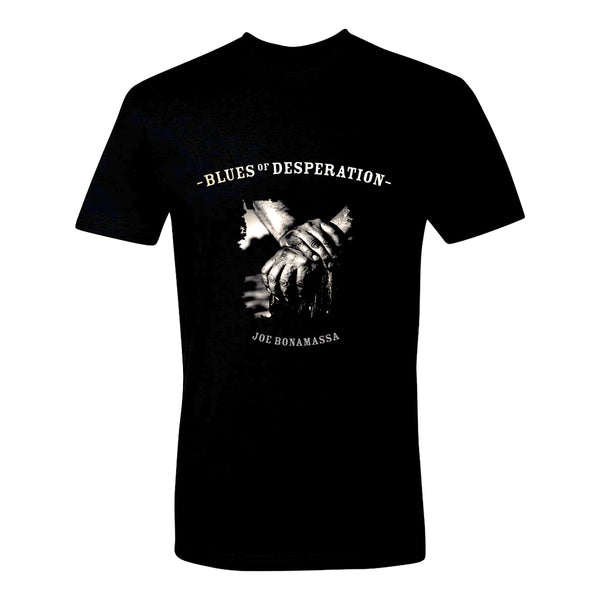 Blues of Desperation Album Cover T-Shirt (Unisex) - Embossed Foil