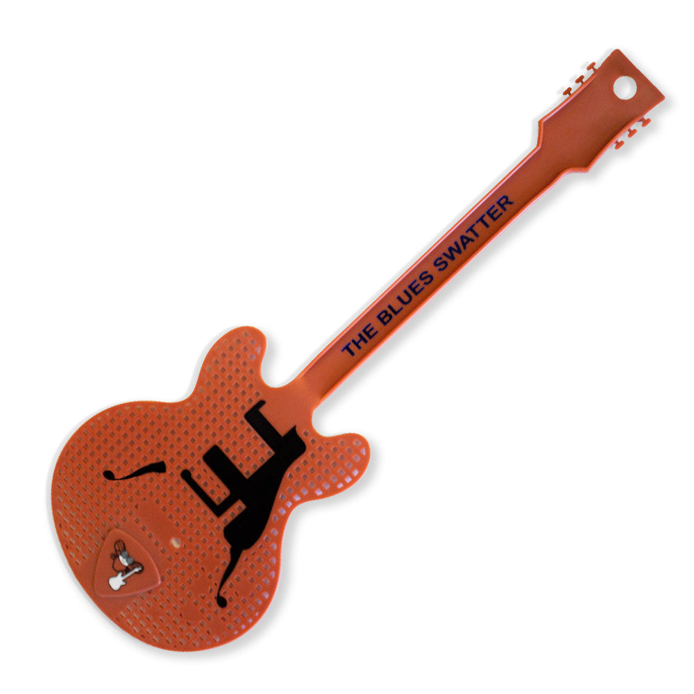 Guitar Fly Swatter - Red
