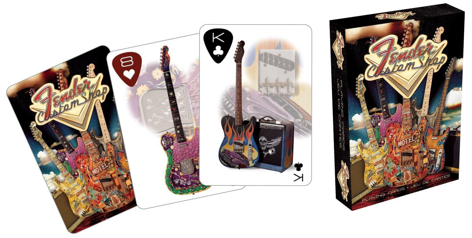 Fender - Custom Guitar Shop Playing Deck of Cards