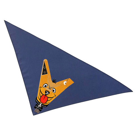 Blues Drifter Bandana - Navy