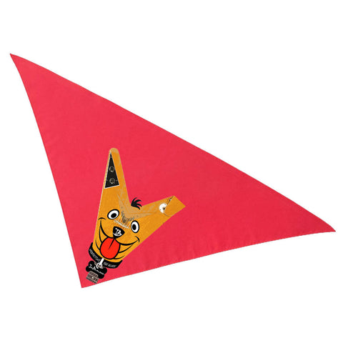 Blues Drifter Bandana - Red