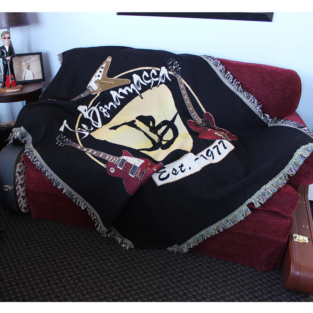 Guitar Trifecta Blanket