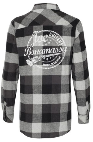 Genuine Flannel Long Sleeve (Women) - Black