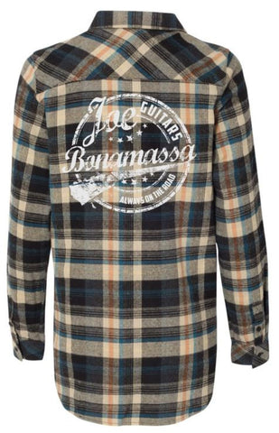 Genuine Flannel Long Sleeve (Women) - Dark Khaki