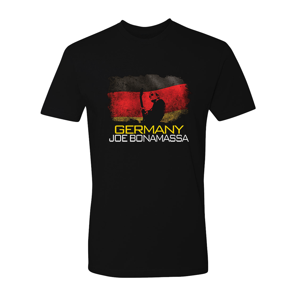 Joe Bonamassa World Shirt: Germany