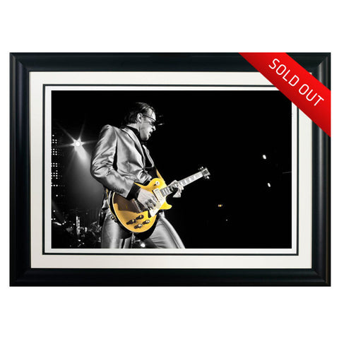 "#2 ""Gold Top"" - Joe Bonamassa Collectible Litho"