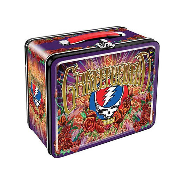 Grateful Dead - Retro Steal Your Face 50th Anniversary Lunch Box