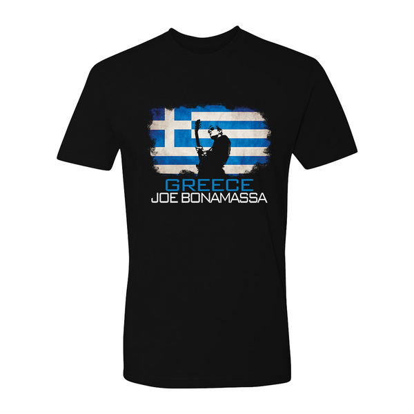 Joe Bonamassa World Shirt: Greece