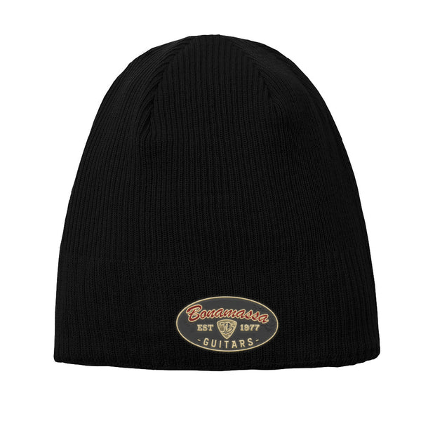 The Stamp New Era Knit Beanie - Black