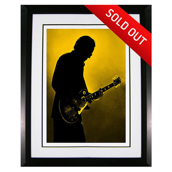 "#11 ""Guitar Trooper"" JOE BONAMASSA Collectible Litho (FRAMED - USA ONLY)"