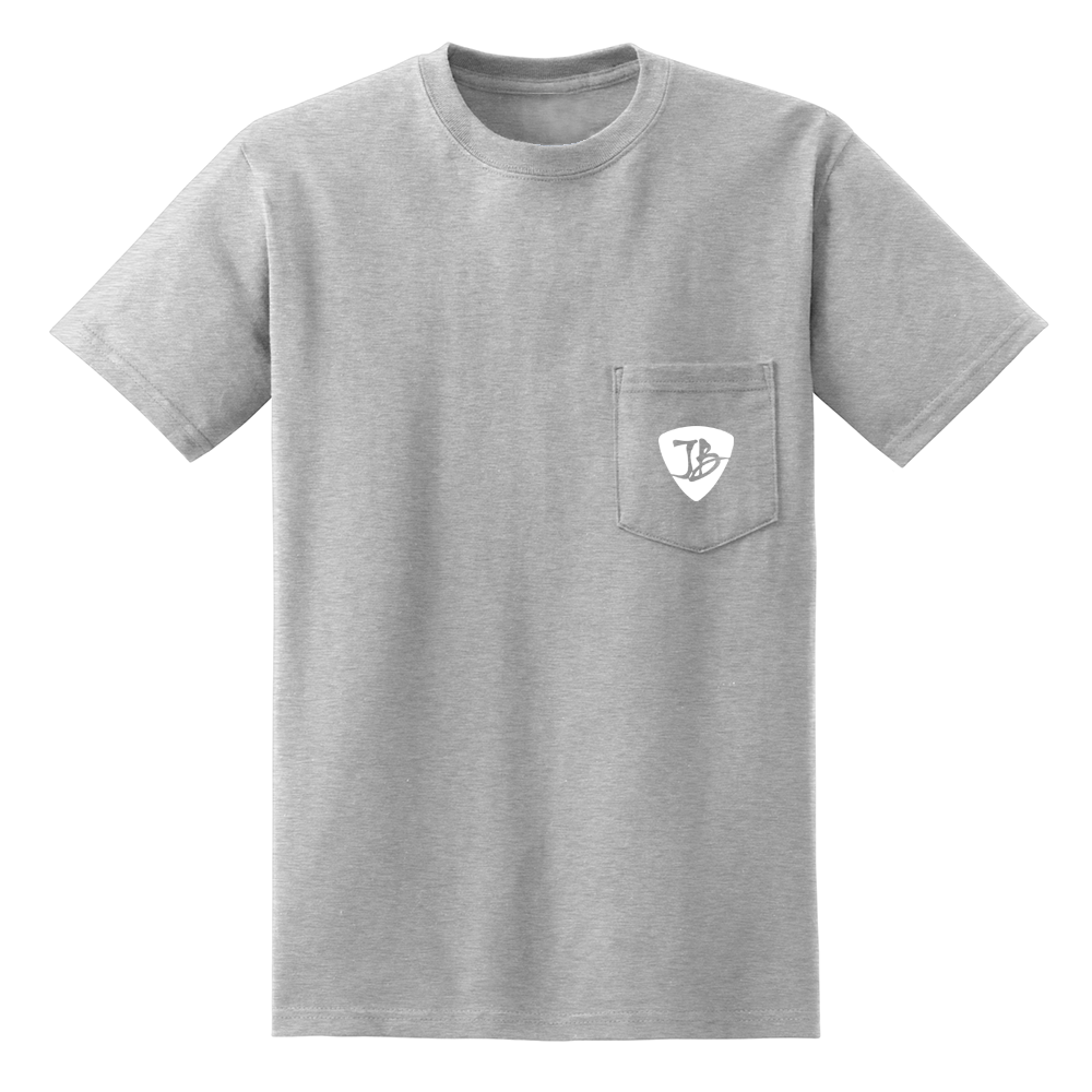 Guitar Scene Pocket T-Shirt (Unisex) - Ash