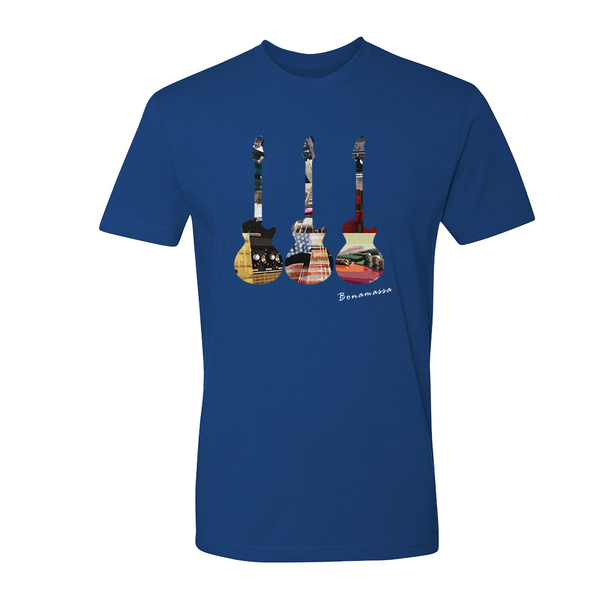 Guitar Scene T-Shirt (Unisex) - Royal Blue