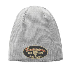The Stamp New Era Knit Beanie - Grey