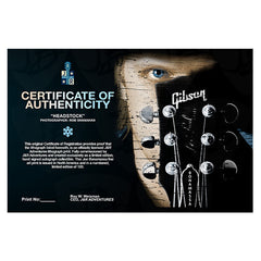 "#14 ""Headstock"" - Joe Bonamassa Collectible Litho"