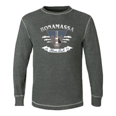 Blues Rock Guitar Logo Thermal (Unisex) - Charcoal