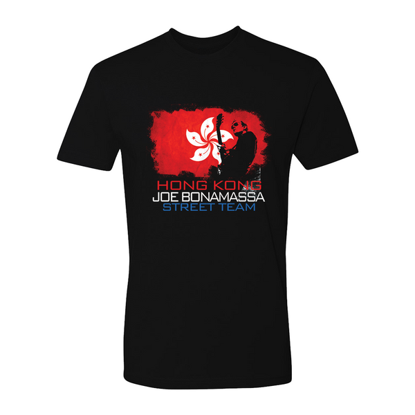Joe Bonamassa World Shirt: Hong Kong