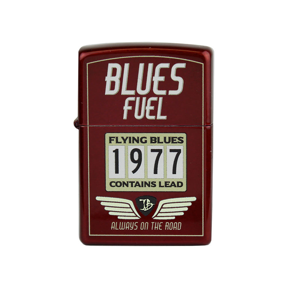 Hot Rod JB Zippo Lighter - Candy Apple Red