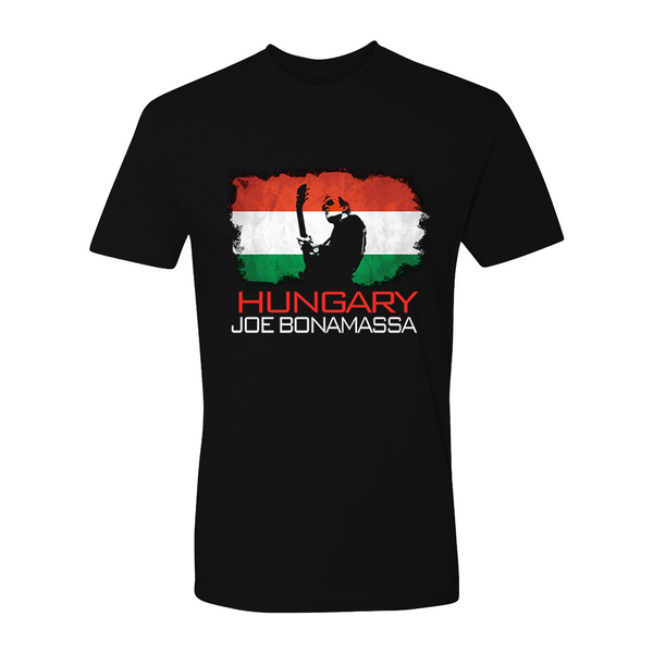 Joe Bonamassa World Shirt: Hungary