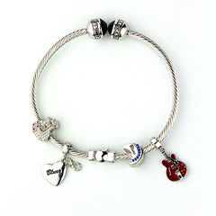 Starter Set with JB Logo Adjustable Bangle - Silver