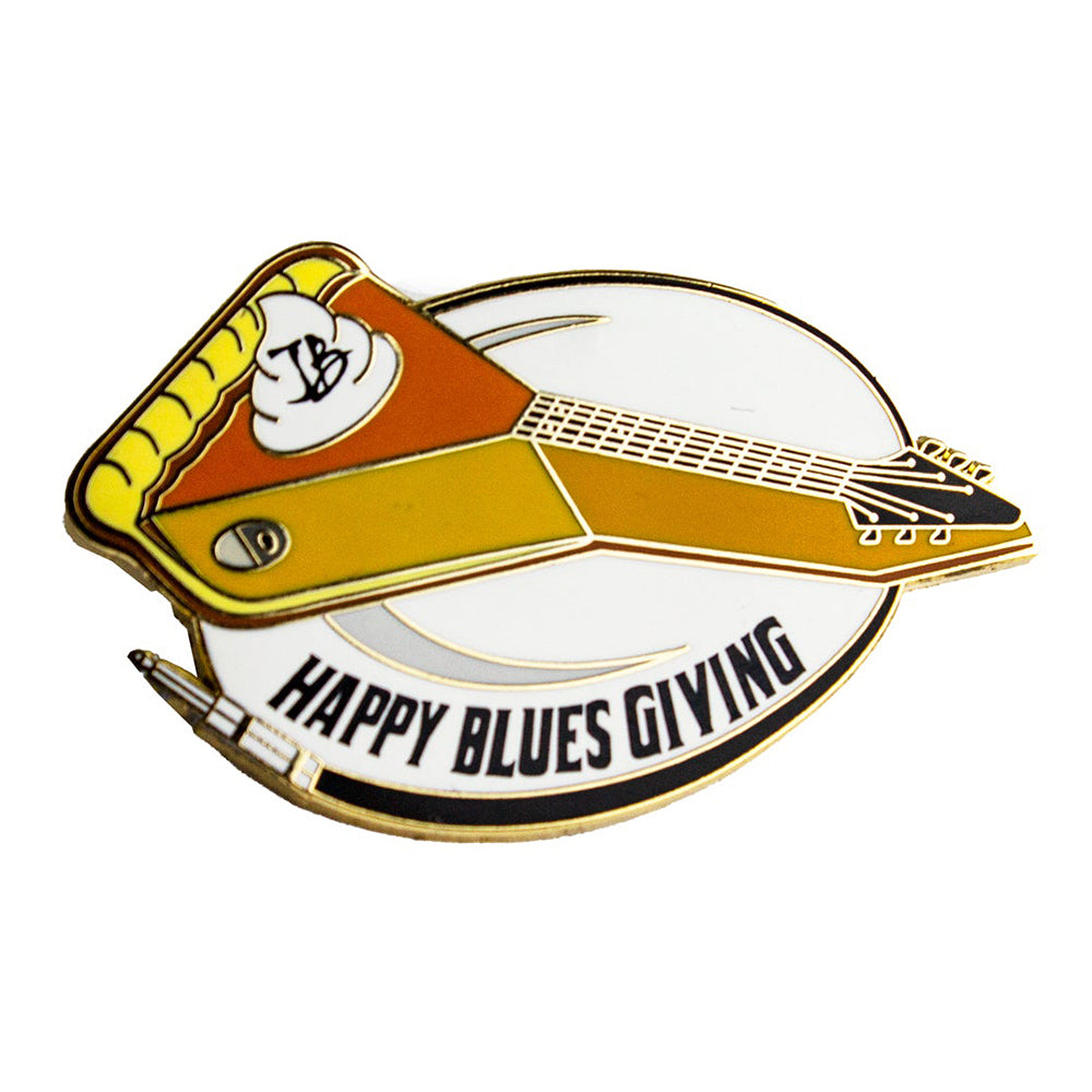Happy Blues Giving Pin
