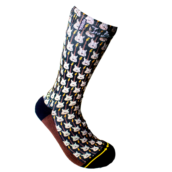 Stratocaster Crew Socks by Merge4
