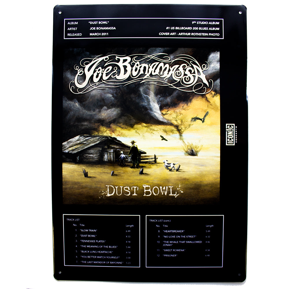 Dust Bowl Tin Sign