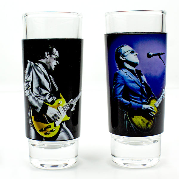 Bona- Litho Shot Glasses - 2 Piece Set V1
