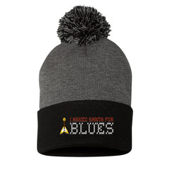 I Asked Santa for Blues Ugly Christmas Beanie