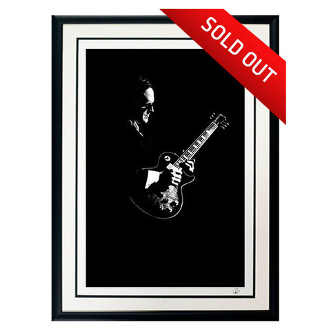 "#4 ""Infinity"" - Joe Bonamassa Collectible Litho"