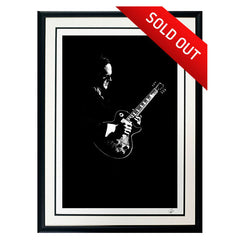 "#4 ""Infinity"" JOE BONAMASSA Collectible Litho (FRAMED - USA ONLY)"