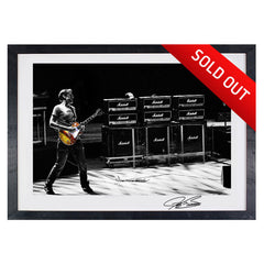 "#10 ""It Goes to 11"" JOE BONAMASSA Collectible Litho (FRAMED - USA ONLY)"