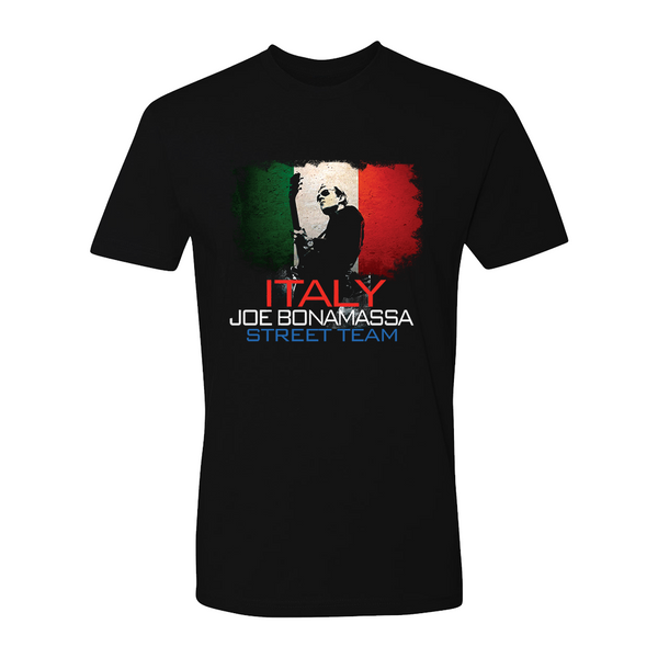 Joe Bonamassa World Shirt: Italy