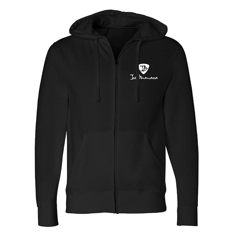Lucky Blues Zip-Up Hoodie (Unisex) - Black