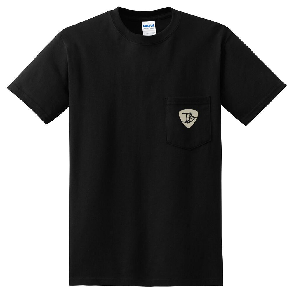 JB Guitars Pocket T-Shirt (Unisex) - Black
