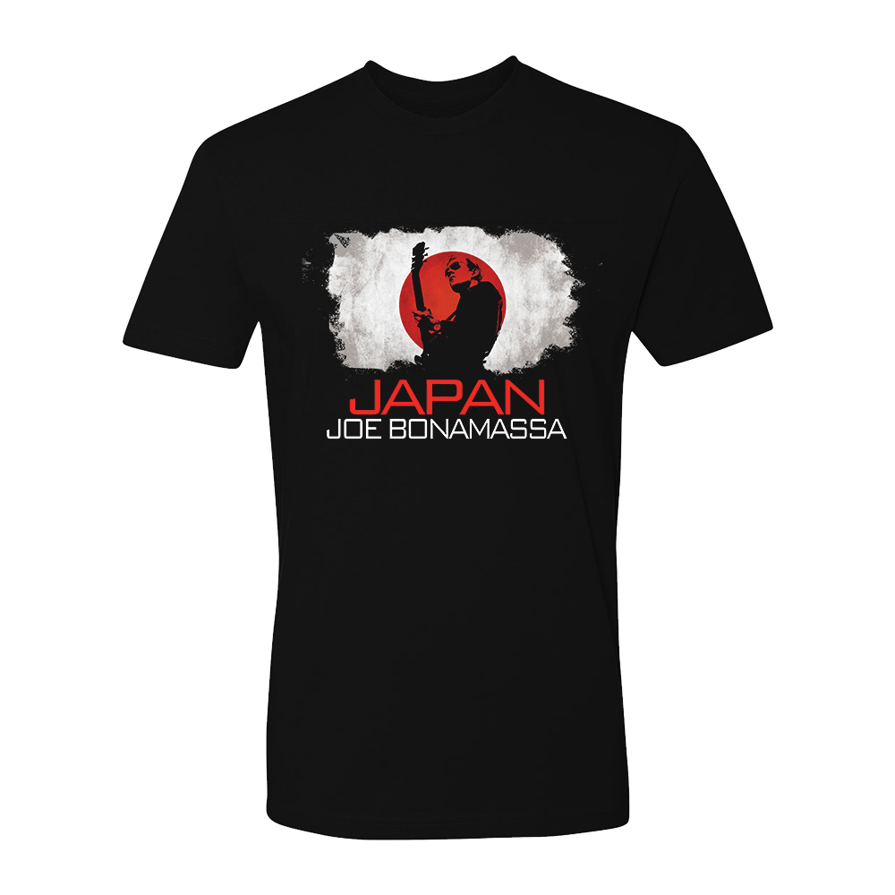 Joe Bonamassa World Shirt: Japan
