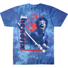 Jimi Hendrix - Fire T-Shirt (Men)