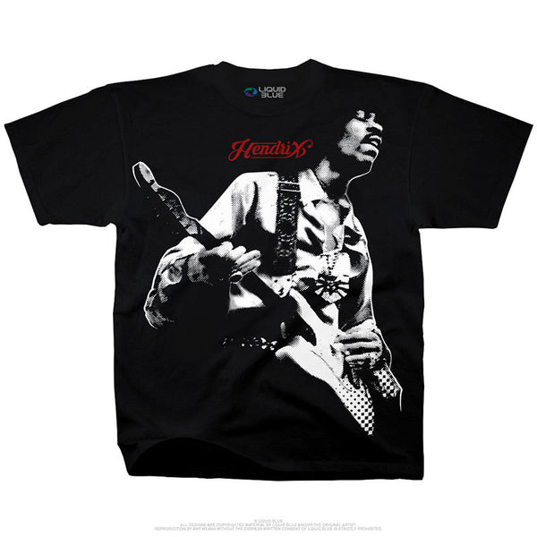 Jimi Hendrix - Passion & Soul T-Shirt (Men)