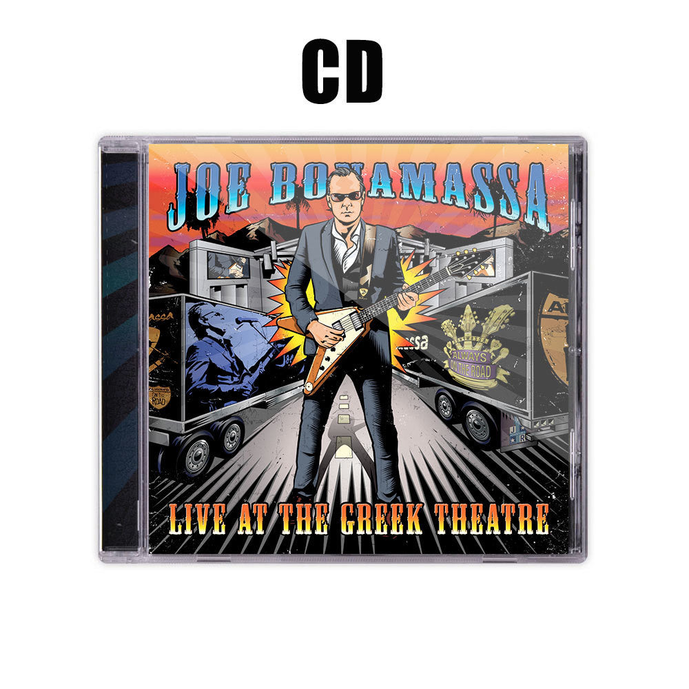 Live at the Greek Theatre CD & DVD + T-Shirt Package