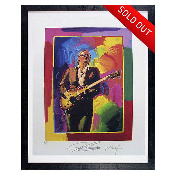 "#8 ""Joe to the Max"" - PETER MAX Collectible Litho (FRAMED - USA ONLY)"