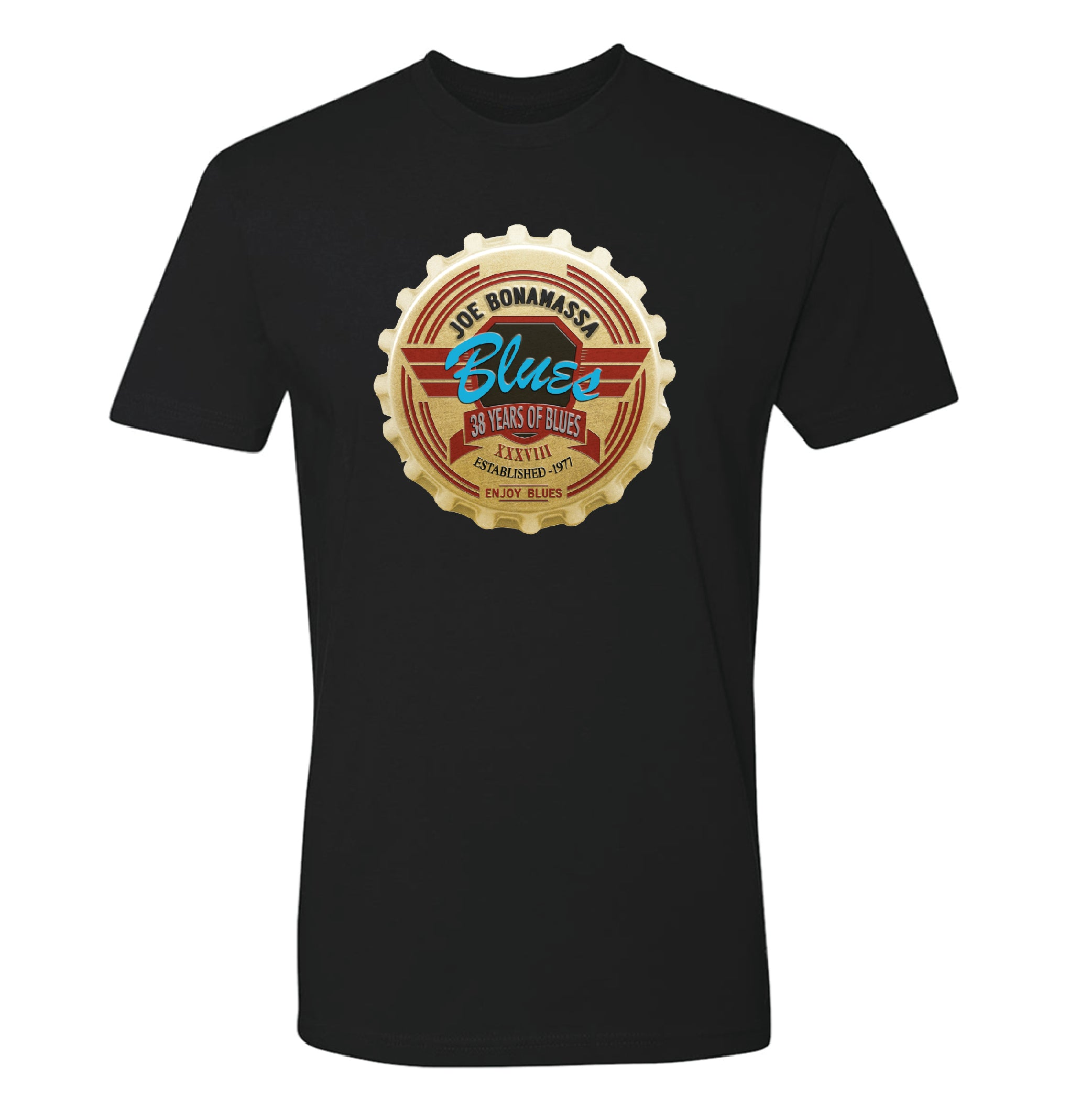 Joe Bonamassa 38 Years of Blues T-Shirt (Unisex)